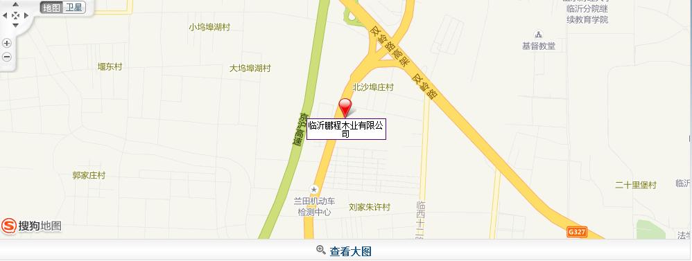 鹏程木业地图